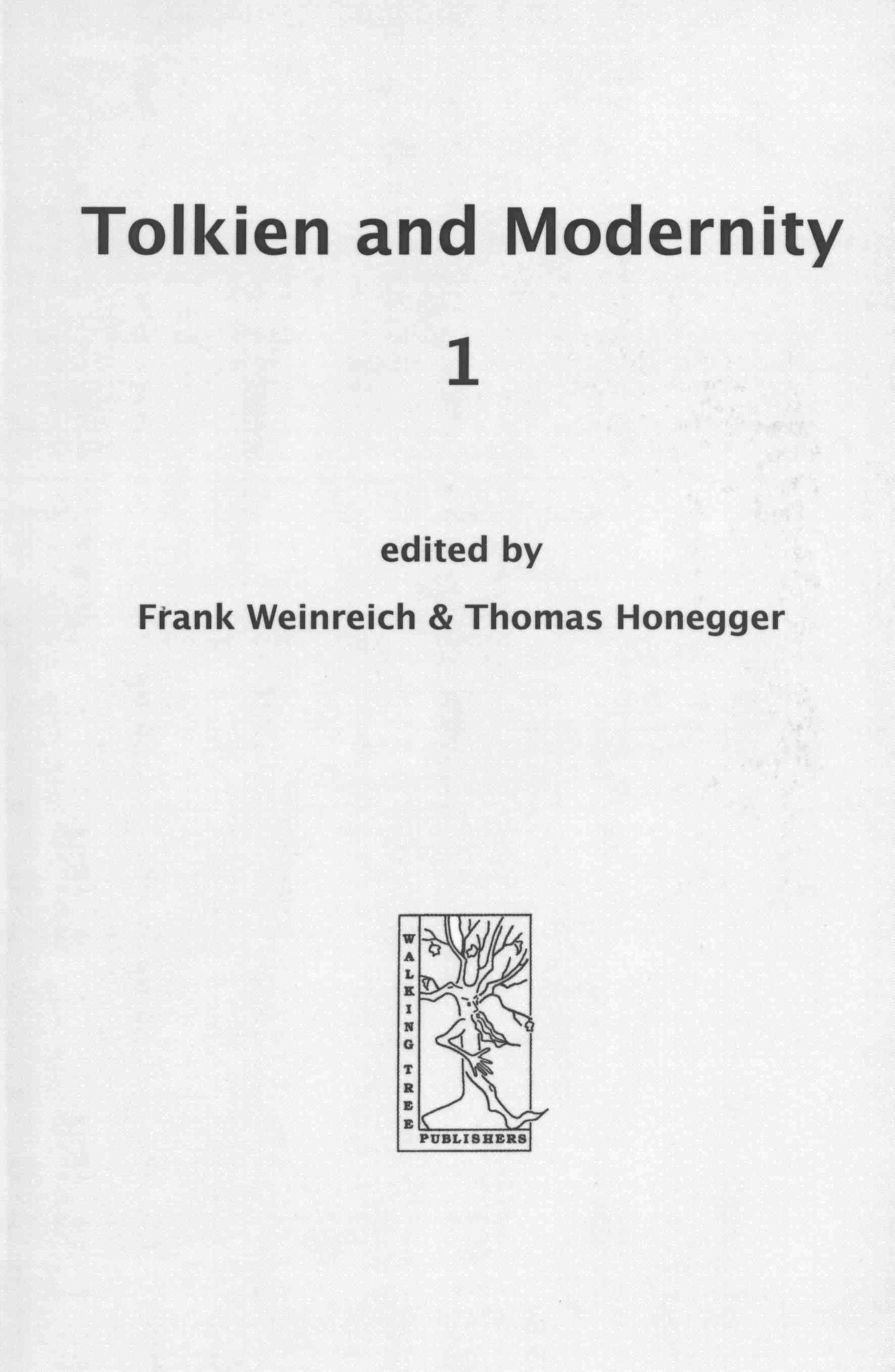 Tolkien and Modernity 1 (Cormarë Series #9)
