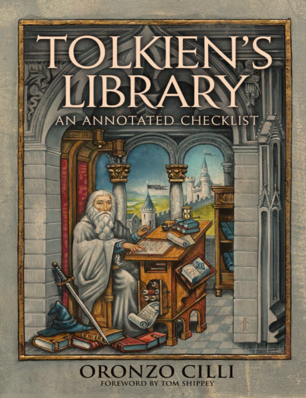 Выложен Tolkien's Library: An Annotated Checklist