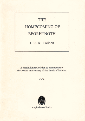 The Homecoming of Beorhtnoth Beorhthelm's Son