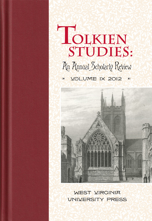Tolkien Studies vol. 9